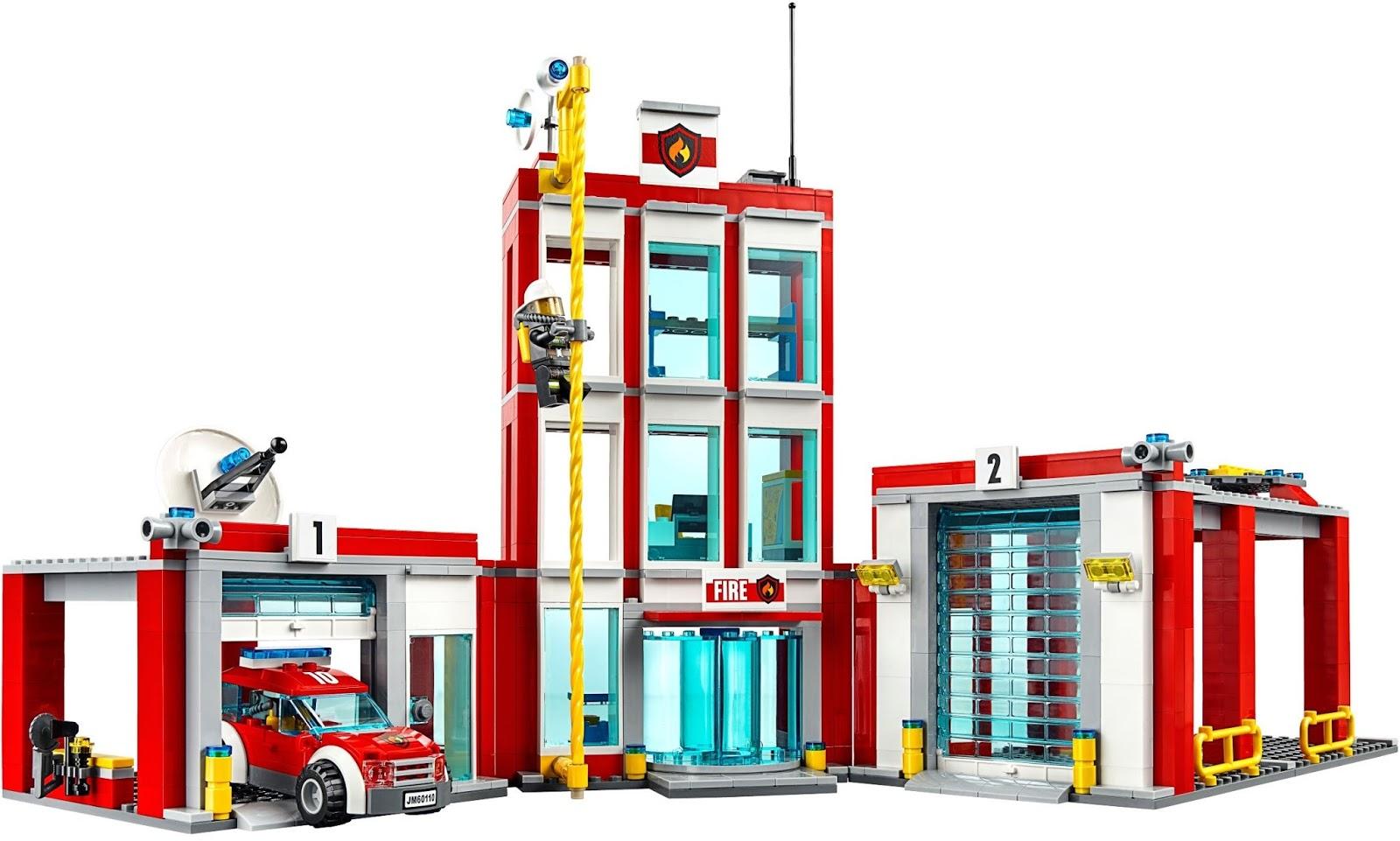 DeToyz Shop: 2016 New Lego City 60110 Fire Station set