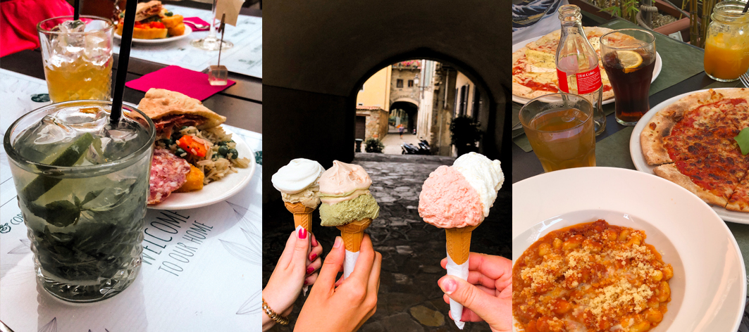 restaurant à faire Bergame Italie