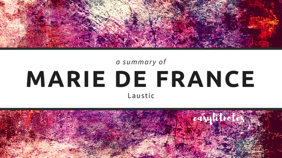 summary of marie de france's laustic