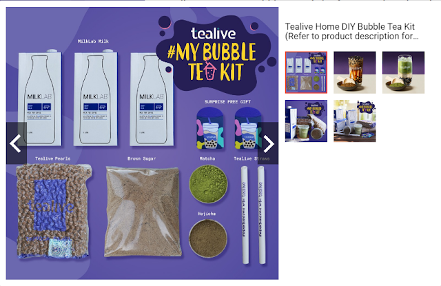 Recipe Kit Boba Tea Tealive