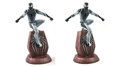 San Diego Comic-Con 2020 Exclusive PS4 Negative Suit Spider-Man Marvel Gallery Statue by Diamond Select Toys