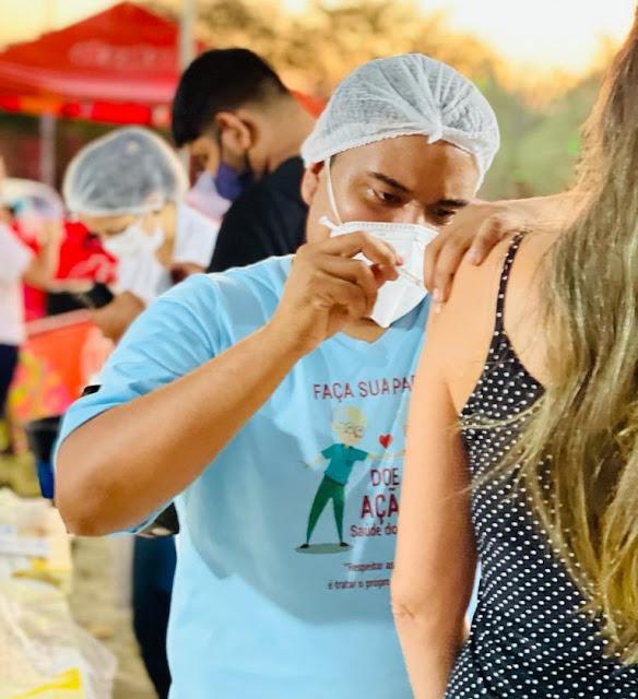Porto Velho reduz faixa etária para vacinar pessoas acima de 32 anos com cadastro no SASI