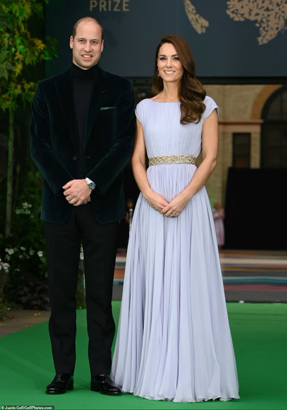 Duchess Kate and Prince William attend the Earthshot eco-prize ceremony