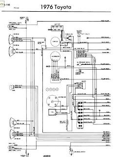 repair manuals toyota hilux 1976 wiring diagrams. Black Bedroom Furniture Sets. Home Design Ideas