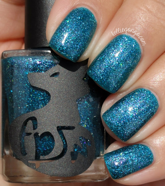 Frenzy Polish You Look So Good In Blue