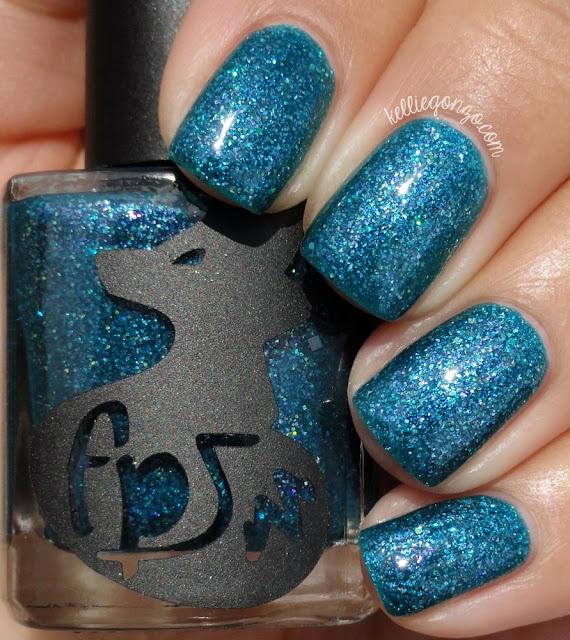 Frenzy Polish You Look So Good In Blue