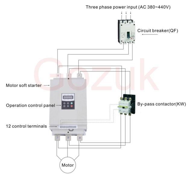 soft starter wiring diagram schneider mercury outboard key switch electric photos of