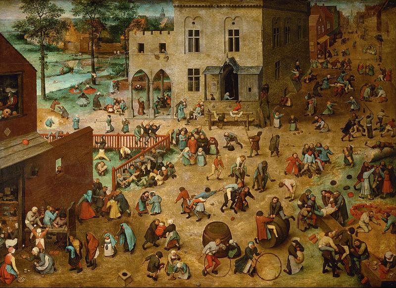 (Jogos infantis, Pieter Bruegel, 1560)
