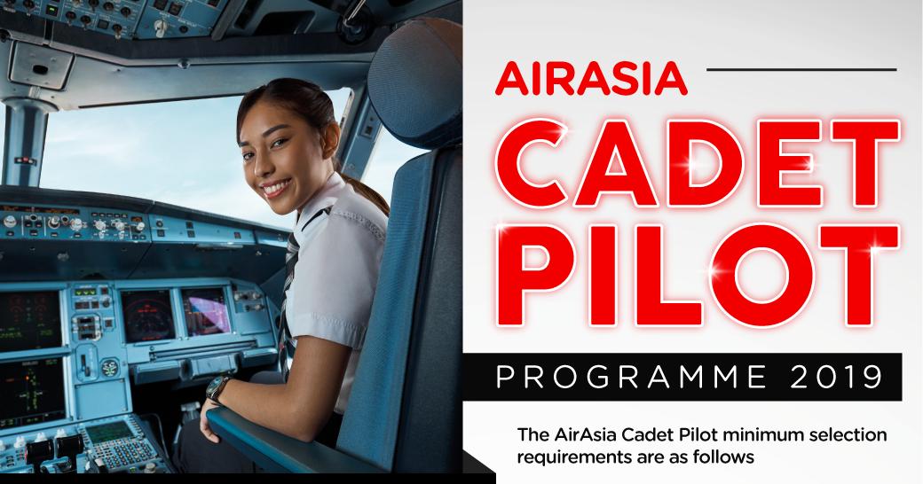 Fly Gosh Airasia Pilot Recruitment Cadet Pilot 2019 Now Open