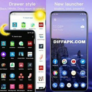 New Launcher 2018 themes, icon packs, wallpapers Apk v8.4 [Prime] [Latest]