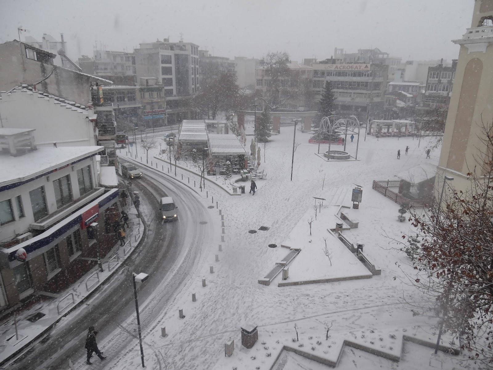Καιρικά Νέα Ξάνθης: Έρχονται χιόνια στην Ξάνθη το Σαββατοκύριακο