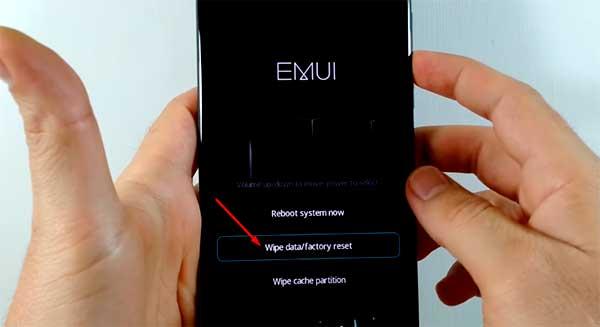 restablecer un celular huawei mate 8