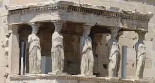 La Acrópolis de Atenas, Erecteion.