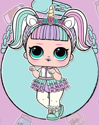 Популярная кукла единорог L.O.L. Confetti Pop wave 2
