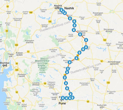 Pune Nashik Railway