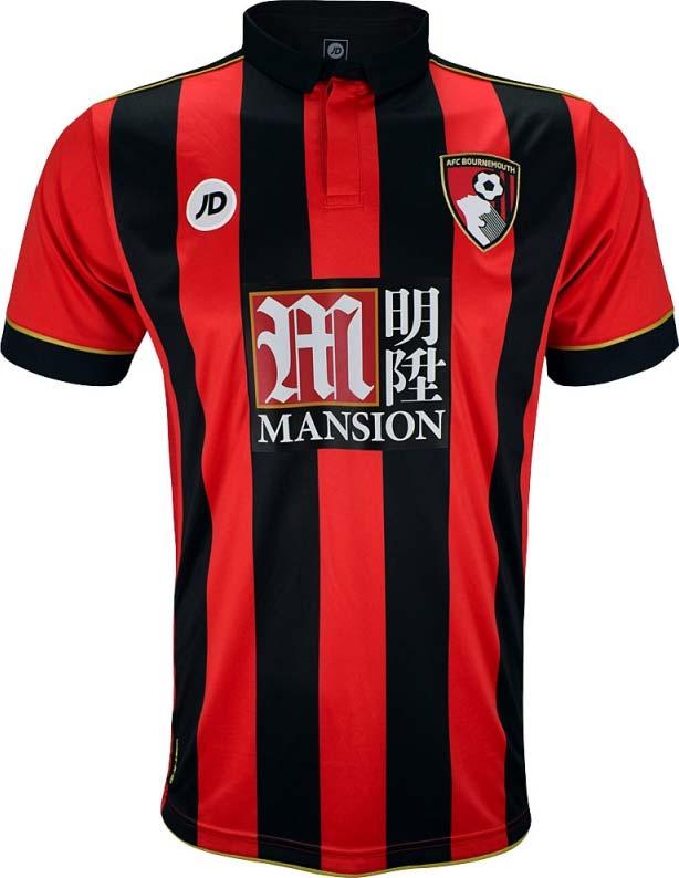 d628cddafe JD Sports divulga as camisas do AFC Bournemouth - Show de Camisas