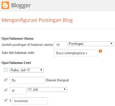 Mengatasi tanggal-bulan postingan blog berbeda