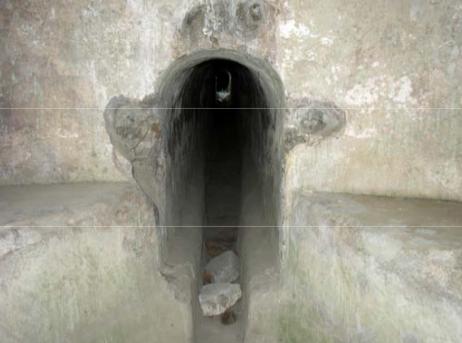 Pompei,cunicolo canale di Sarno