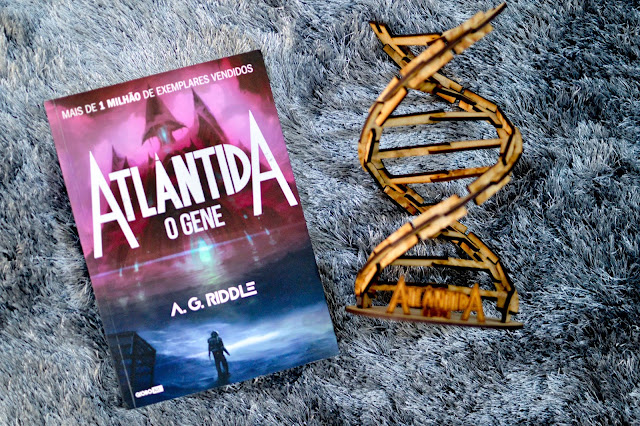 [Resenha] Atlântida - O Gene | A. G. Riddle