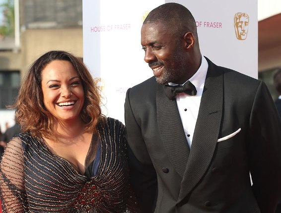Idris Elba and partner Naiyana Garth go on date at baftas 2016 together