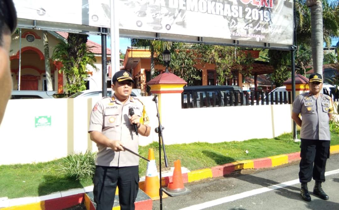 Kapolres Tana Toraja Akan Tindak Tegas Personilnya yang Terbukti Dukung Capres atau Caleg