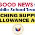 GOOD NEWS: Teaching Supplies Allowance Act for Public School Teachers
