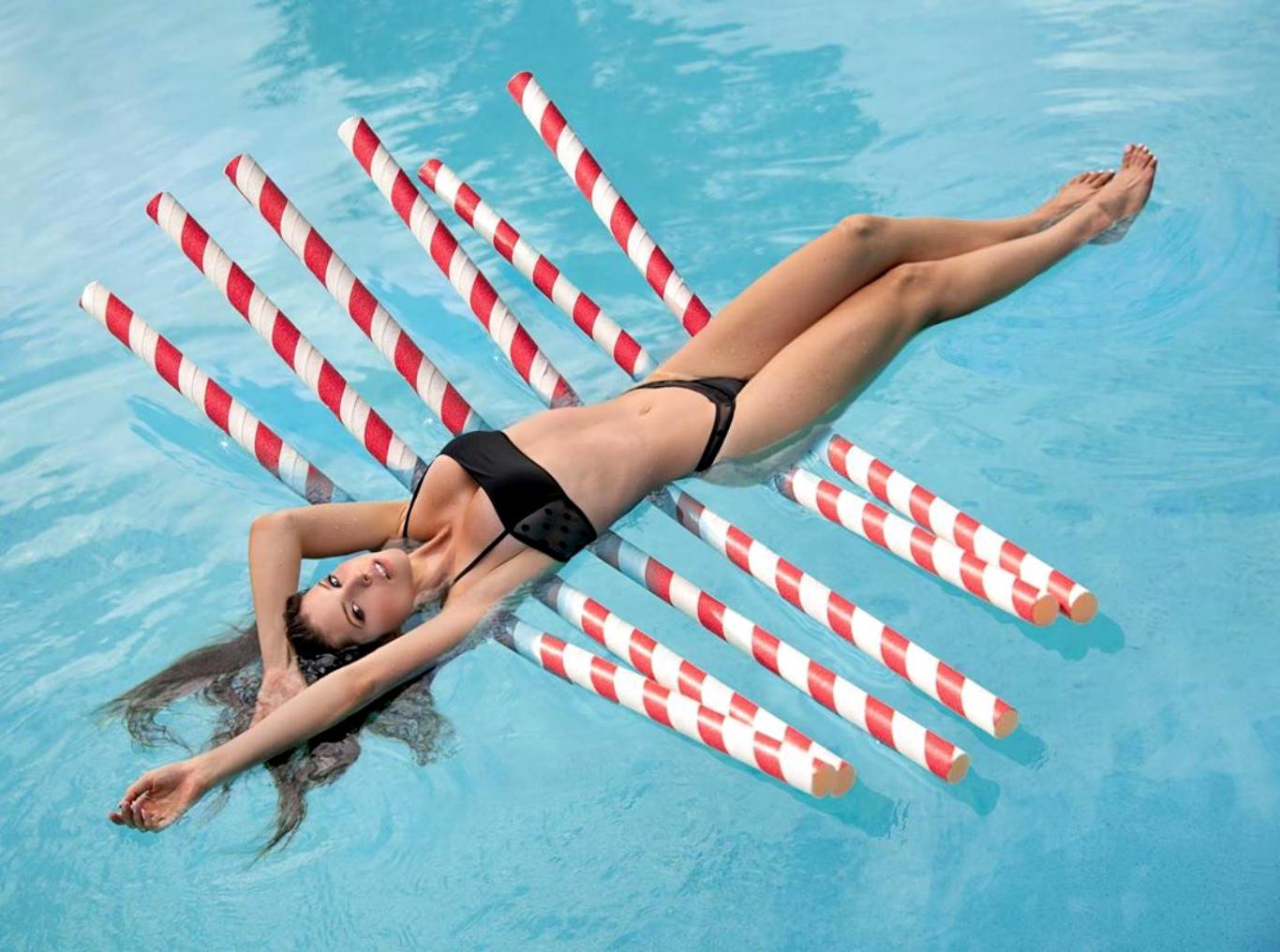 Amanda Cerny Black Bikini Wallpaper