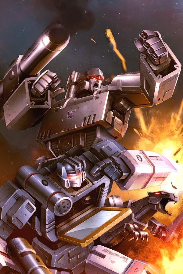transformers megatron comics idw