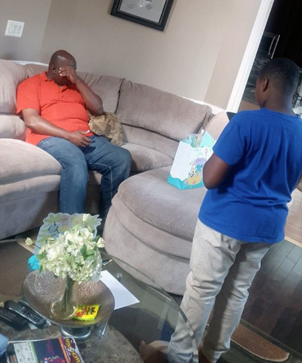 Watch The Emotional Moment An 11-year-old Boy Asks His Step Father To Officially Adopt Him