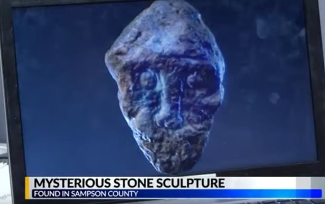 Mysterious Stone Sculpture found in North Carolina  Mysterious%2BSculpture%2BNorth%2BCaolina