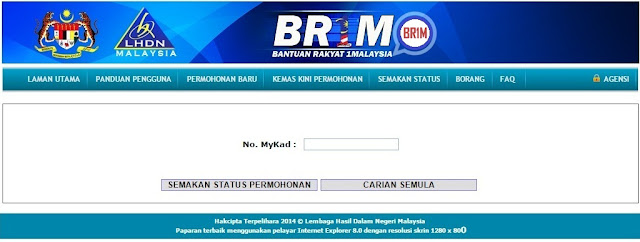 Permohonan BR1M 6.0 2017