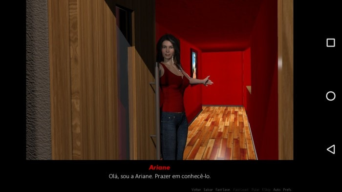 Virtual dating simulator ariane free