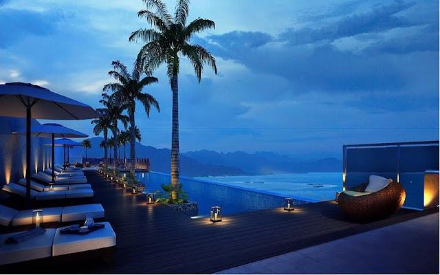 Hướng view đẹp về trung tâm tại căn hộ Sơn Trà Ocean View Đà Nẵng