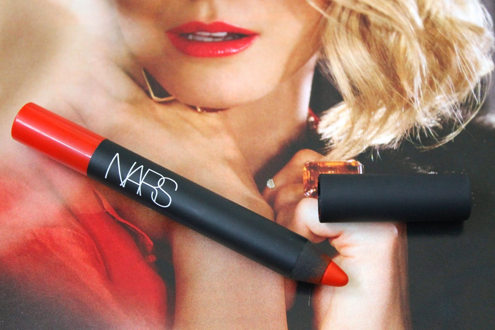 Nars Red Square Velvet Matte Lip Pencil