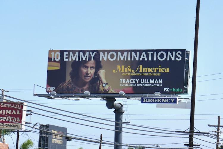 Tracey Ullman Mrs America Emmy nominee billboard