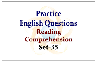 SBI PO Exam 2015- Practice English Questions