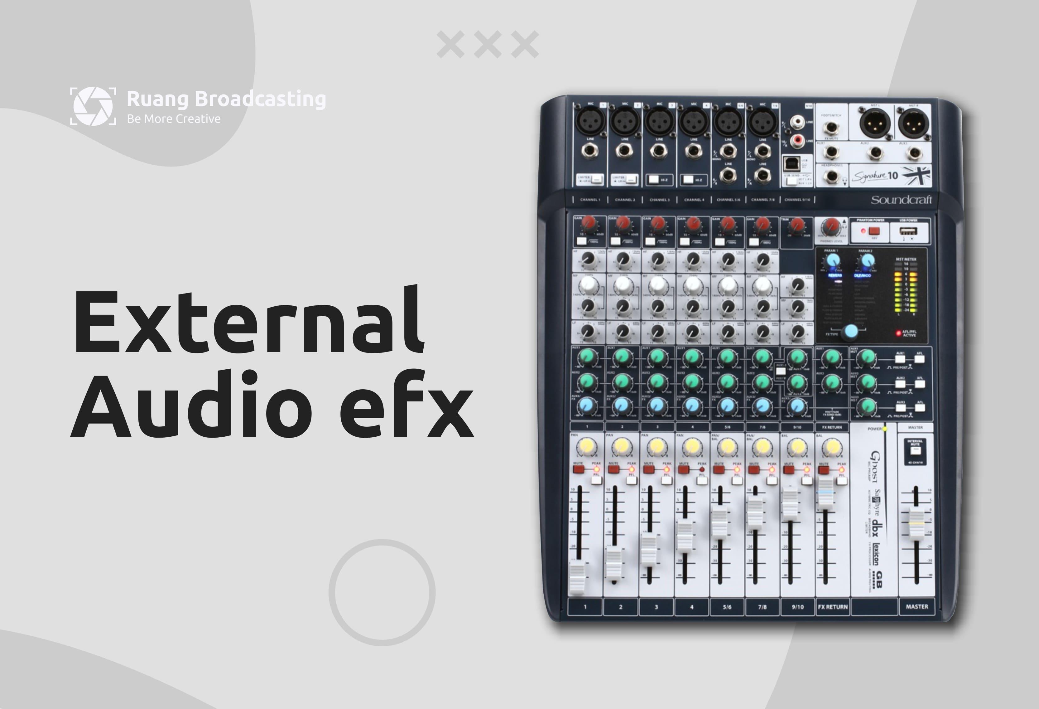 External Audio efx