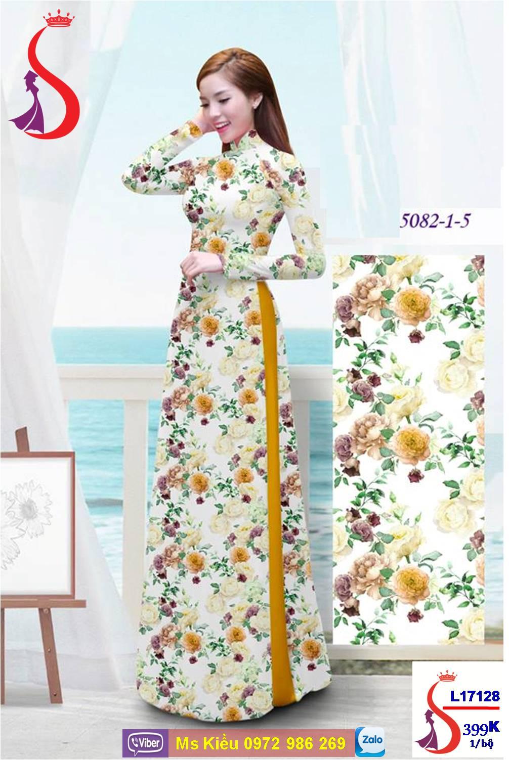 áo Dài Màu Vàng đẹp Sang Trọng Trẻ Trung Album 3 2