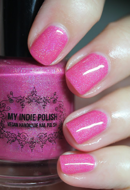 My Indie Polish Big Girl Panties Nail Polish Swatches