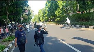 Awalnya Menggebu-gebu, Pendemo Gatot Nurmantyo Tunggang-langgang saat Diserbu FKPPI
