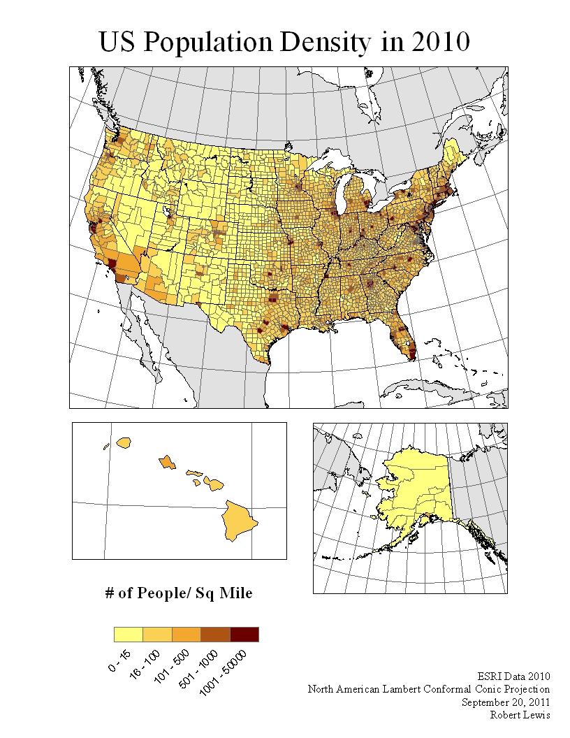 adjure the publick united states population density in 2010