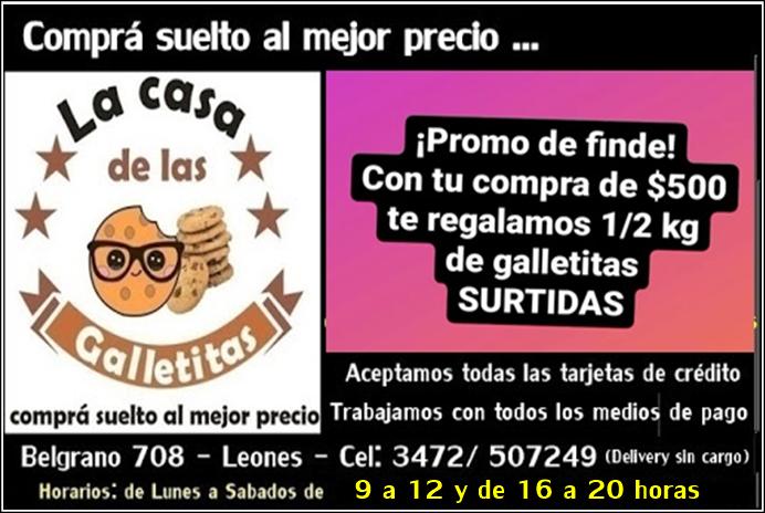 ESPACIO PUBLICITARIO: LA CASA DE LAS GALLETITAS