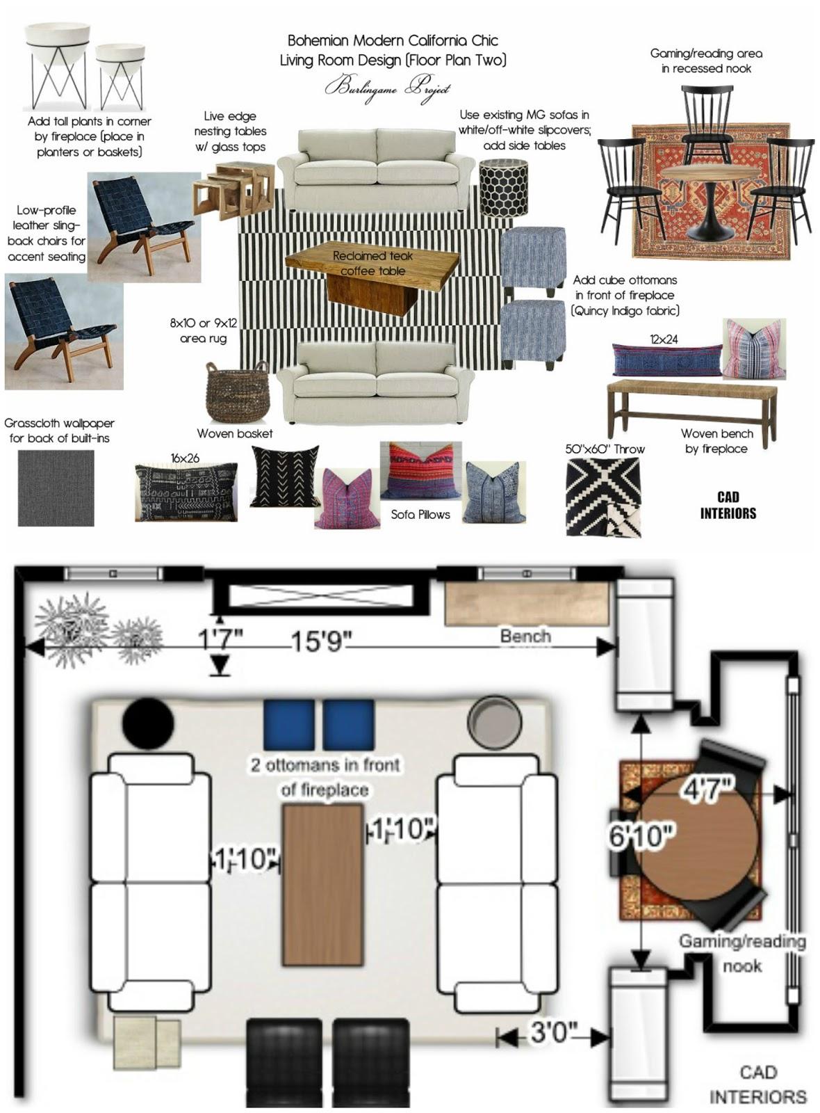 E Design Interior Decorating Board