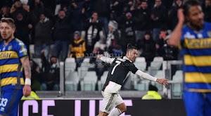 رونالدو يقود يوفنتوس لتعزيز صدارة الدوري الايطالي بعد الفوز على نادي بارما
