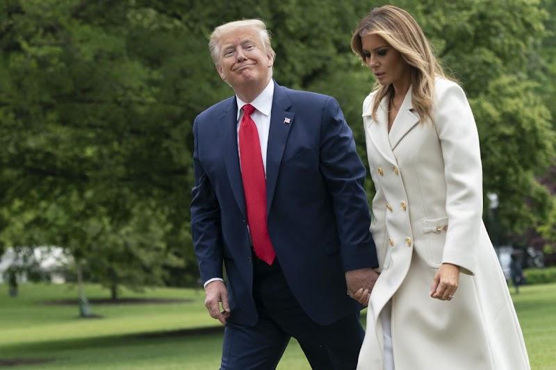 Melania Trump Outfit May -25 -2020