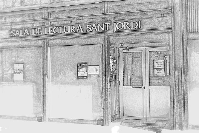 Sala de Lectura Sant Jordi (Torà) per Teresa Grau Ros