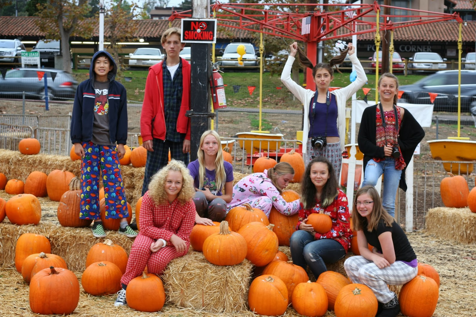 Grauer Art Pumpkin Patch Field Trip Pajama And Crazy Hair Day 8th Grade Art