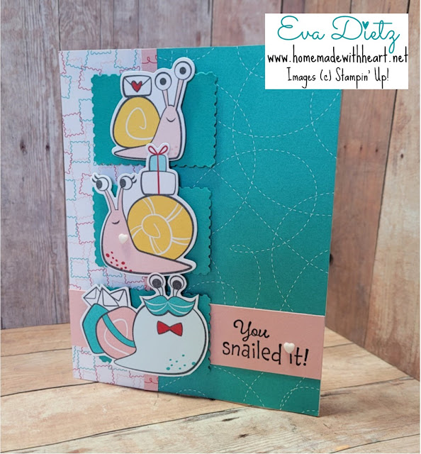 Snail Trio Card