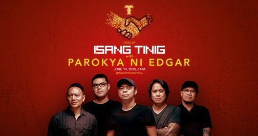 Tanduay Stages Online Concert With Parokya ni Edgar  This June 19