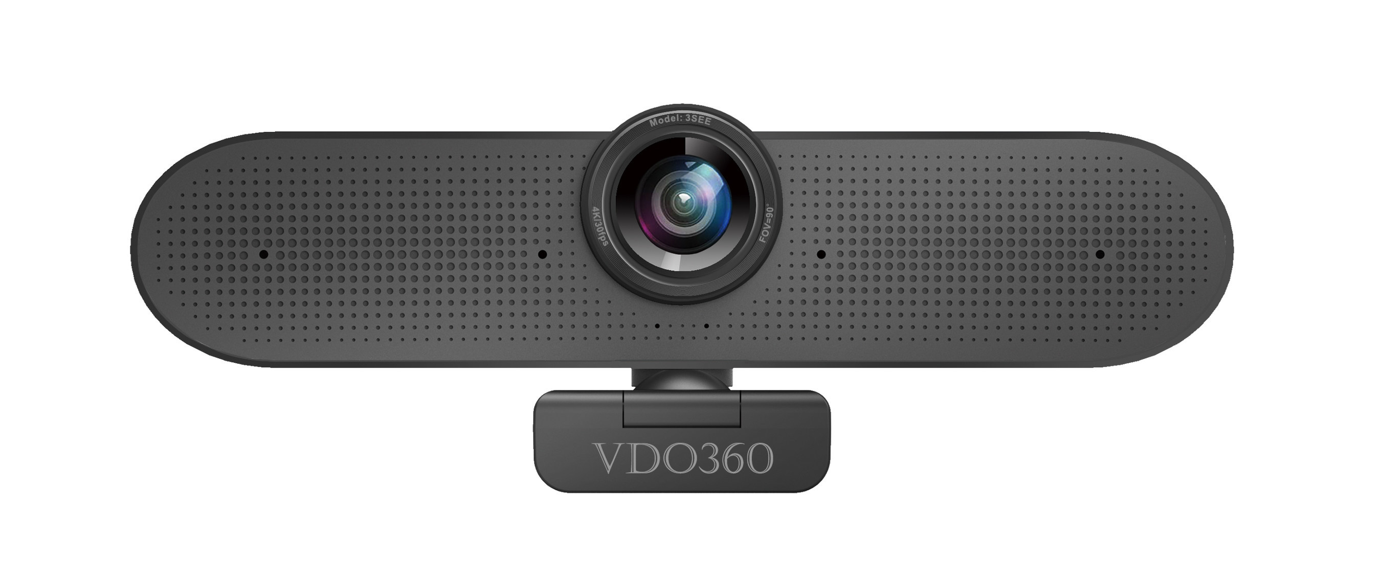 VDO360 Announces 3SEE 4K USB Webcam With Built-in Microphone Array and Speakers